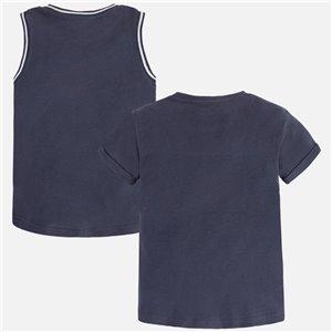 Komplet leginsy + bluzka z długim rękawem
