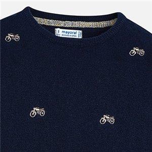 Sweterek ze ściągaczem