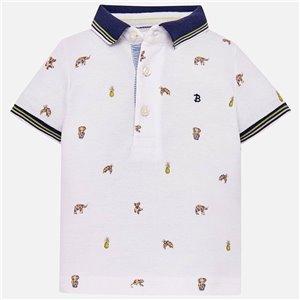 Koszulka polo z krótkim rękawem