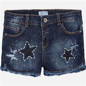 Spodnie jeansowe dla chłopca z szelkami