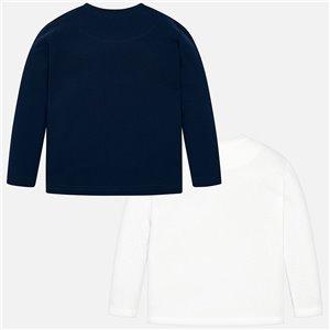 Zestaw koszulek z długim rękawem