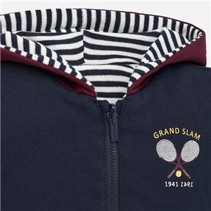 Sweter z ozdobnymi tasiemkami
