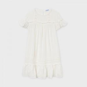 Sukienka tiulowa łączona